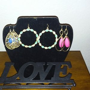 Earring bundle!  3 pair 1 price! *3for$25*